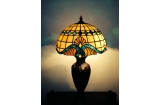 Baroque Off white Tiffany Lamp