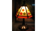Mini Square Tiffany Lamp
