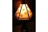 Fused Lamp Dots Small Tiffany Lamp