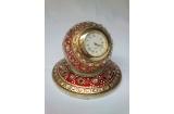 Round Plate Watch