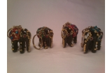 Elephant Metalic Key Ring